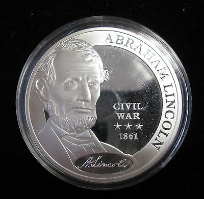 American Mint Abraham Lincoln Commander in Chief Fantasy Coin - 0725