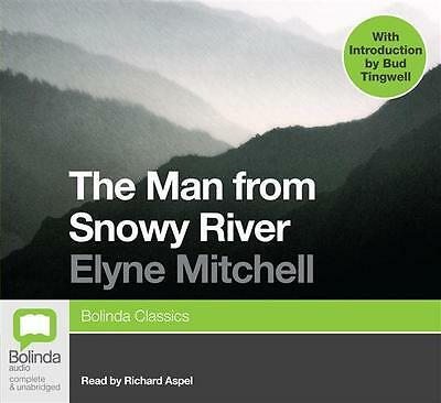 NEW The Man From Snowy River By Richard Aspel Audio CD Free Shipping