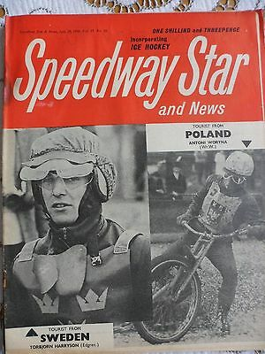 Speedway Star and News 29th July 1966
