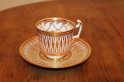 ROYAL CHELSEA - CATHEDRAL #5135 - TEA COFFEE CUP and SAUCER SET