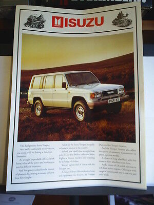 Isuzu Trooper - Sales Brochure