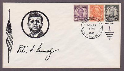US JFK Assassination Day Cover w/3 Previous Assass Presidents - I Combine S/H