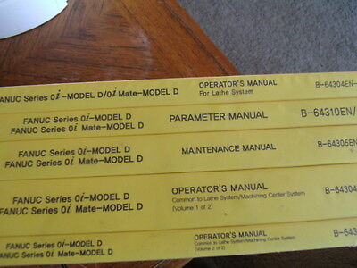 Fanuc Operator's Manual B-64484EN-2/03  Model B Parameters /mainenance/