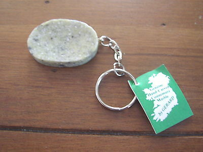 Connemara Marble by Gerard Worry Stone Keyring, made in Ireland
