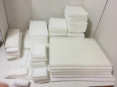 Big Lot Of Foam Packing/shipping Sheets Used (Item #bw10) Used