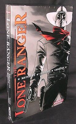 The Lone Ranger Definitive Edition Oversize Hc Dynamite Mint Free Shipping