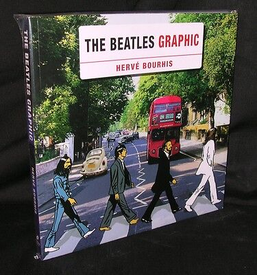 The Beatles Graphic Herve Bourhis New Mint Omnibus Press Free Shipping