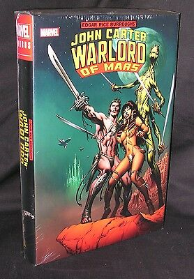 John Carter Warlord Of Mars Omnibus New Sealed Marvel Free Shipping