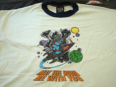 May The Horn Be With You Rhino Records Promo Tee Shirt New old stock