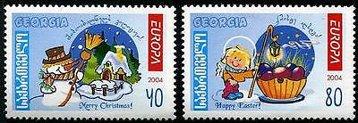 GEORGIA Sc.# 340-41 Europa '04 - Vacations Mint NH Stamps