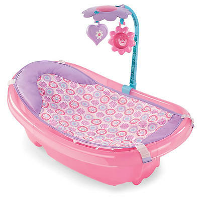 Summer Infant Sparkle Fun Tub With Toy Bar