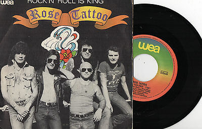 """ROSE TATTOO - Rock 'N' Roll Is King / I Had You First, 7"""" SG SPAIN 1981"""