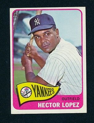 1965 Topps 532 Hector Lopez Ex-mt #d172563 Sports Trading Cards Sports Mem, Cards & Fan Shop