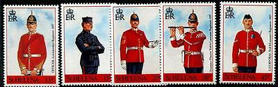 ST. HELENA Sc.# 549-53 Uniforms Mint NH Stamps