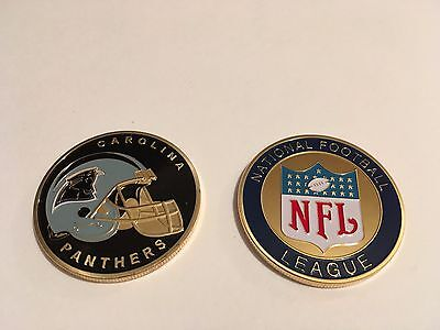 Nfl Carolina Panthers Sport American Football Collectable Challenge Coin New