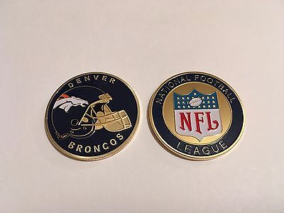 Nfl Denver Broncos Sport American Football Collectable Challenge Coin New