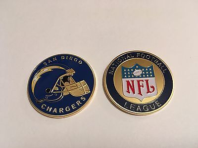 Nfl San Diego Chargers Sport American Football Collectable Challenge Coin New
