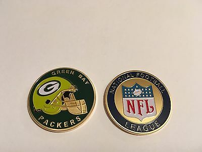 Nfl Green Bay Packers Sport American Football Collectable Challenge Coin New
