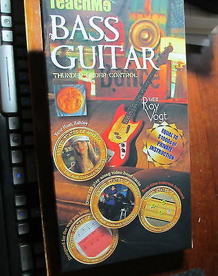 "Teach Me Bass Guitar~10 DVD Lessons with Roy Vogt~""Best bass lesson DVDs..."""