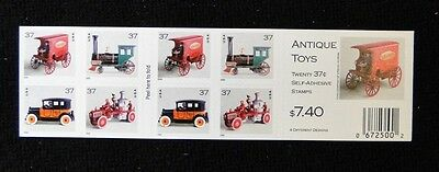 # 3642a -45a Antique Toys 37c  Booklet of 20  Mint NH free shipping