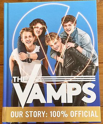 The Vamps - Our Story Hardback Book Signed