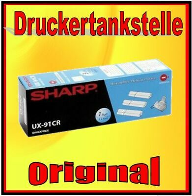 1x UX 91-CR Fax roller Thermal transfer SHARP UX-CC 500 UX-CD 600 UX-CL 220 UX-S