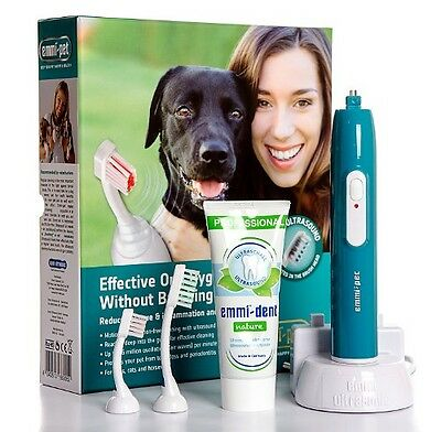 New Emmi-PET 100% Ultrasonic Toothbrush, UltraClean with Ultra sonic Technology