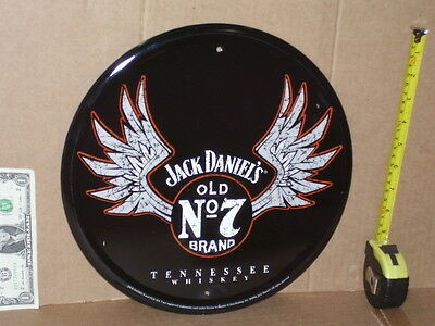 TENNESSEE WHISKEY - Jack Daniel's No. 7 Brand - ROUND - OLD SIGN Dated 2004