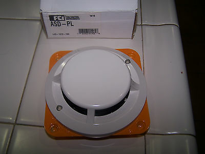New Fci Asd-Pl Photoelectric Addressable Smoke Detector (9 Available New!)