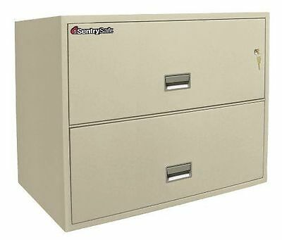 1 New In Crate Sentry 2L3610 Fire & Theft Proof 2 Drawer Lateral Cabinet