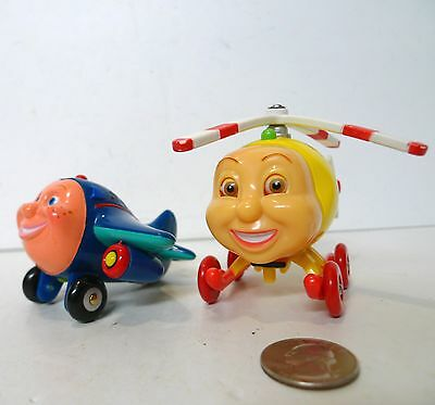 Jay Jay The Jet Plane Wooden Herky & Jay Jay Plastic Vehicle Lot !!!