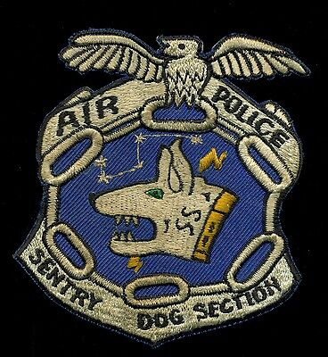 USAF Air Police K-9 Sentry Dog Section Patch S-24