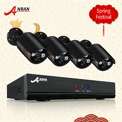 Anran AHD 720P 1080N CCTV Home Security Camera System Surveillance IP66 AU STOCK