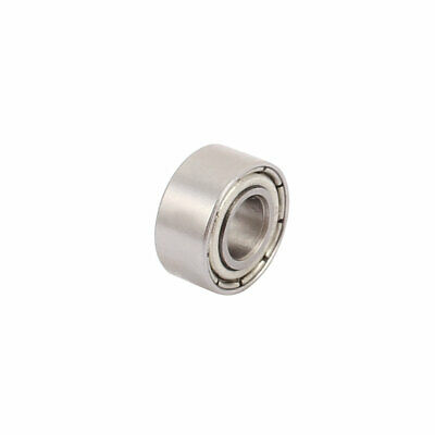 685Z Double Shielded Deep Groove Ball Bearing Silver Tone 11mmx5mmx5mm