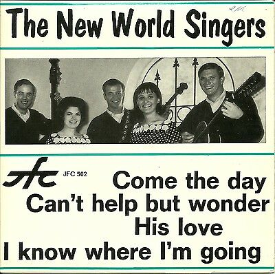 "SG 7"" - Xian - The New World Singers - JFC 502 (4 Songs)"