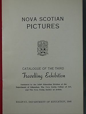 Nova Scotian Pictures Catalog of the 3rd Traveling Exhibition 1948 Art Show