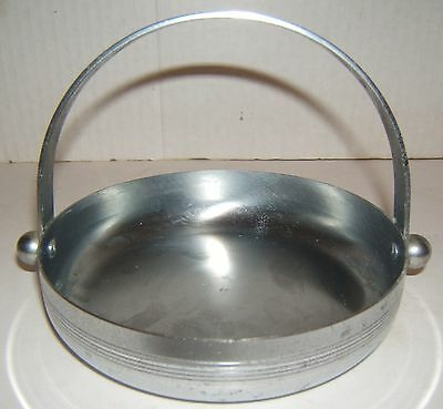 Art Deco Chase Chromed Candy or Nut Dish