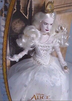 Disney Store - The White Queen Doll, Alice Through The Looking Glass (2016) New