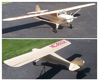 Giant 1/4 Scale 1941 Taylorcraft Plans,Templates, Instructions