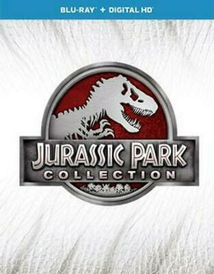 Jurassic Park Collection - BLU-RAY 3D Region 1 Free Shipping!