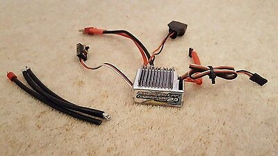 1/10 RC Speed Passion Gran Turismo 2.0 LPF Silver ESC Brushless Speed Controller