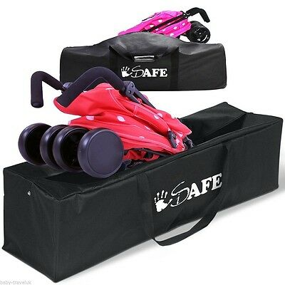 iSafe Stroller Travel Holiday Storage Case Bag For Mamas & Papas Trek² Buggy