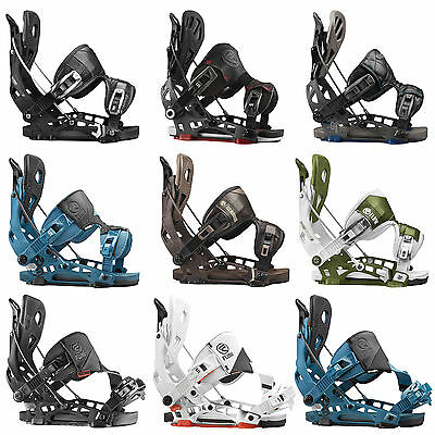 Flow NX2 NX2 GT Hybrid Fusion Hombre Enganches snowboard Step-In 2016-2017 NUEVO