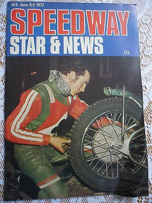 Speedway Star and News 3rd June 1972
