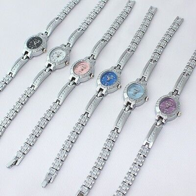 6pcs Lot of Mixed Bulk Fashion Women's Watch Quartz Dress Wristwatch O106M6