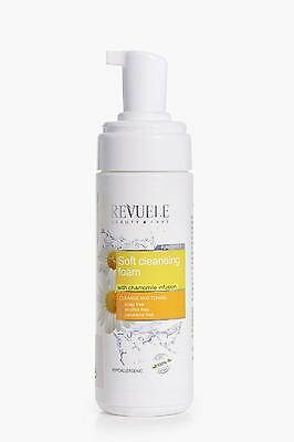 Boohoo Womens Chamomile Soft Cleansing Foam in Clear size One Size