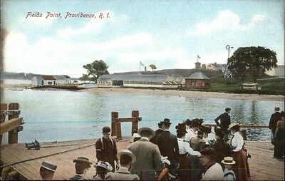 Providence RI Field's Point c1910 Postcard