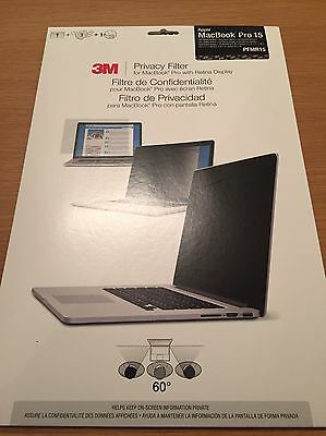 3M Privacy filter macbook Pro With Retina 15 inch