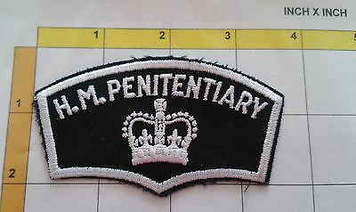 Canada H.M. Penitentiary Jail Prison Guard Correction Dept Obsolete Patch