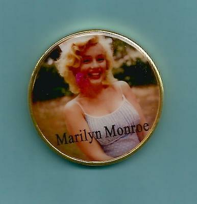 ** MARILYN MONROE  - Commemorative Coin **  24K GOLD PLATED.